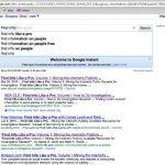 Google instant, cos'è e come può aiutarti in una strategia SEO