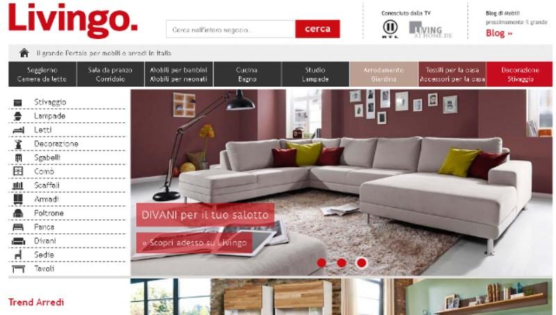Portale di arredamento online emn italy blog for Portale arredamento