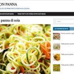 Pasta con panna, il nuovo sito web d'ispirazione culinaria
