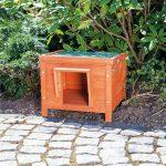 Come costruire una cuccia per gatti da esterno e dove posizionarla